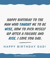 happy birthday wiches happy birthday dad quotes to wish