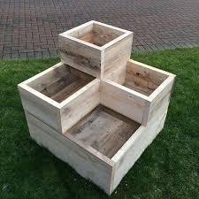 stunning wooden garden planters ideas