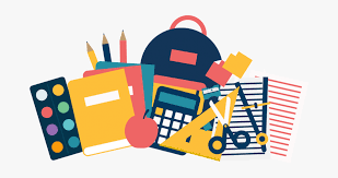 School Supply Lists - Clipart Transparent School Supplies ...