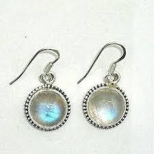 925 sterling silver rainbow moonstone