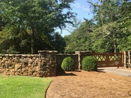 Stone Fence Ideas Hgtv