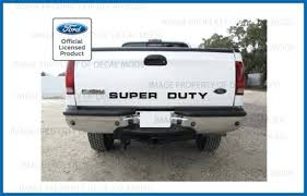 Super Duty Sticker Ford Tailgate Full Decal Window Details About Rear Banner Letters Toqueglamour