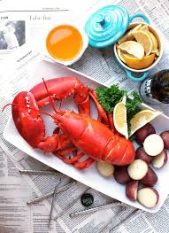 Perfectly Steamed Lobster - Kit's Coastal