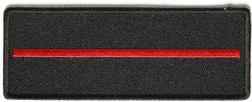 free thin red line border for