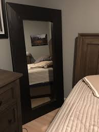 ikea mongstad mirror in black brown for