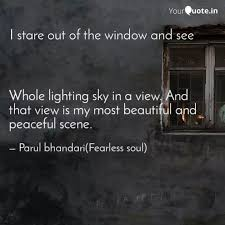 whole lighting sky in a v quotes writings by parul bhandari