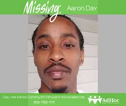 """MISSING Aaron Day Age: 32 Approx. 5'7""""... - AdHoc Group Against Crime KC    Facebook"""
