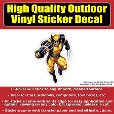 The Wolverine Car Window Bumper Sticker Decal Colorado Sticker