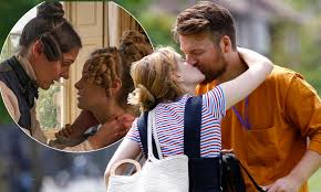 Gentleman Jack star Sophie Rundle packs on the PDA with her hunky beau in a  London park | Daily Mail Online