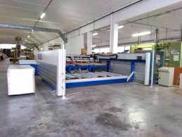 Single Sided Panel Saw With Lifting Table Biesse Selco Ebt 110 L Beam Saws On Macchine Legno Com