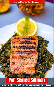 Easy, Pan Seared Cast Iron Salmon is a ...