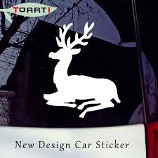 Resting Deer Vinyl Decals Sticker Stag Auto Decal Animal Car Body Window Laptop Car Styling Waterproof Cars Body Decoration Buy At The Price Of 2 95 In Aliexpress Com Imall Com