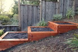 terraced raised garden beds google