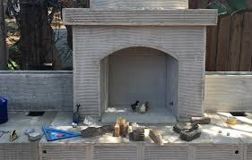 model of outdoor fireplace kits