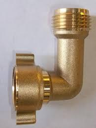 female garden hose brass