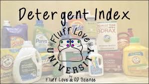 detergent index fluff love university