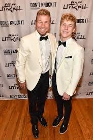 Singer Brian Littrell of Backstreet Boys pose with his Baylee... |  Backstreet boys, Brian littrell, Boy poses