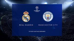 Real Madrid vs Manchester City 2020 | UEFA Champions League 2019 ...