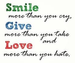 life lesson e love smile