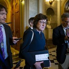 Susan Collins Most Unpopular Senator as Trump Trial Begins