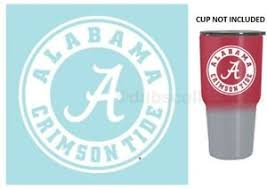 Alabama Crimson Tide 3 Premium Die Cut Vinyl Decal For Yeti Tumbler Car Auto Ebay