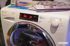 Candy ra mắt dòng máy giặt Rapido: giặt nhanh 39 phút, có kết nối ...