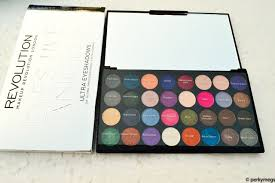 makeup revolution palette review india