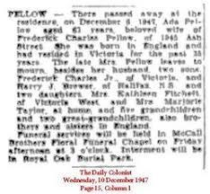 Ada Taylor Pellow (1884-1947) - Find A Grave Memorial