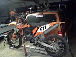 diy hitch dirt bike carriers ideas