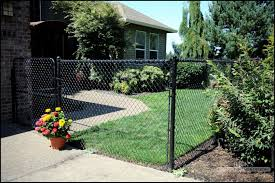 5ft Black Chain Link Fence Black Chain Link Fence Chain Link Fence Front Yard Fence