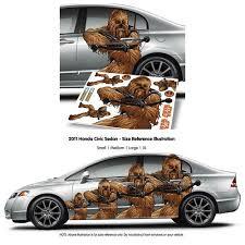 Star Wars Chewbacca Fanwraps Car Decal Entertainment Earth