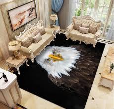 3d Snow Wolf Carpet Bedroom Kitchen Deer Rugs Kids Room Decorative Play Mat Area Rug Pastoral Cat Carpets For Living Room Carpet Aliexpress