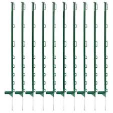 Horizont Green 108cm Electric Fence Posts Pack Of 10