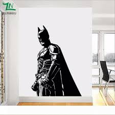 Batman Wall Sticker For Kids Boy Room Vinyl Decal The Dark Knight Superhero Atr Home Decor Living Room Decoration Mural 56 80 Cm Stickers For Rooms Stickers For The Wall From Huijuanstores 64 83