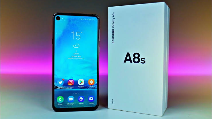 Image result for Samsung galaxy A8s""