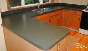 kitchen countertop reveal using the