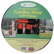 garden hose pipe complete set with