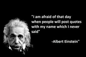 i am afraid of the day when people will post quotes my