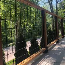 4x4 Mesh Level Rail Panels By Wild Hog Railing Decksdirect