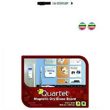 quartet magnetic dry erase board 18 x