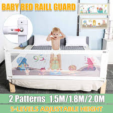 Adjustable Baby Bed Fence Safety Playpen Kids Vertical Lift Crib Rails Infants Safety Gate Crib Barrier Children Guardrail Baby Playpens Aliexpress