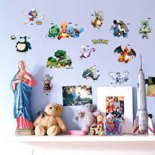 Free Pokemon Iconic Wall Decals Room Decorations Pikachu Pokeball Decor Cup Stickers Home Decor Listia Com Auctions For Free Stuff