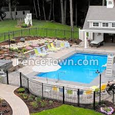 Onguard Starling Fence Panel 54h X 72 5w Aluminum Pool Fence