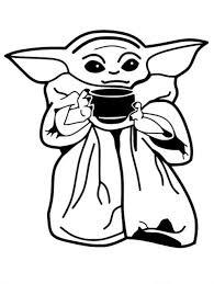 Vinyl Decal Truck Car Sticker Laptop Star Wars Baby Yoda Mandalorian Soup Ebay