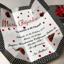 Invitaciones De Cumpleanos Mariquita Bs 0 03 En Mercado Libre