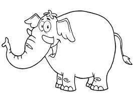 Billedresultat for tegning elefant barn