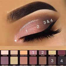 natural smokey eye makeup for brown