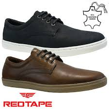 leather lace up driving smart casual