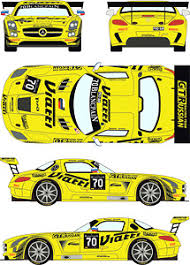 Mercedes Sls Gt3 Gt Russian Racing Car No 70 2015 Bes Monza Decal Hobbysearch Model Car Kit Store