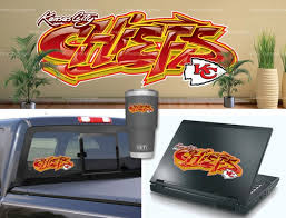 Kansas City Chiefs Graffiti Vinyl Bumper Laptop Wall Decor Etsy